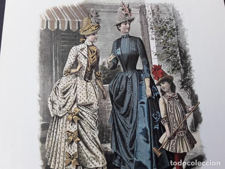 Arte: Lámina La Mode Illustrée. La moda ilustrada - Foto 5 - 147217054