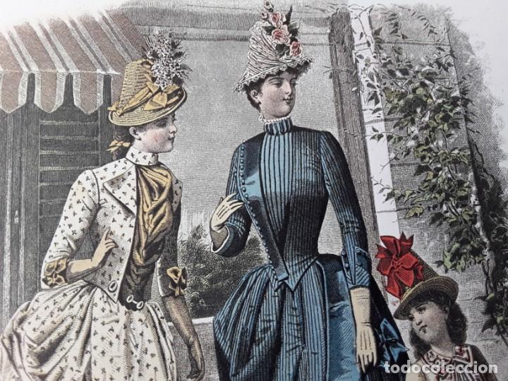 Arte: Lámina La Mode Illustrée. La moda ilustrada - Foto 7 - 147217054