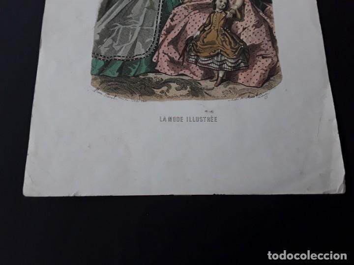 Arte: Lámina La Mode Illustrée. La moda ilustrada - Foto 3 - 147217974