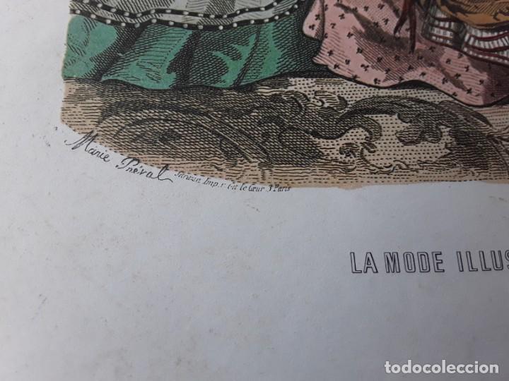 Arte: Lámina La Mode Illustrée. La moda ilustrada - Foto 4 - 147217974