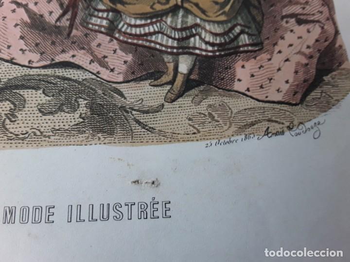 Arte: Lámina La Mode Illustrée. La moda ilustrada - Foto 5 - 147217974