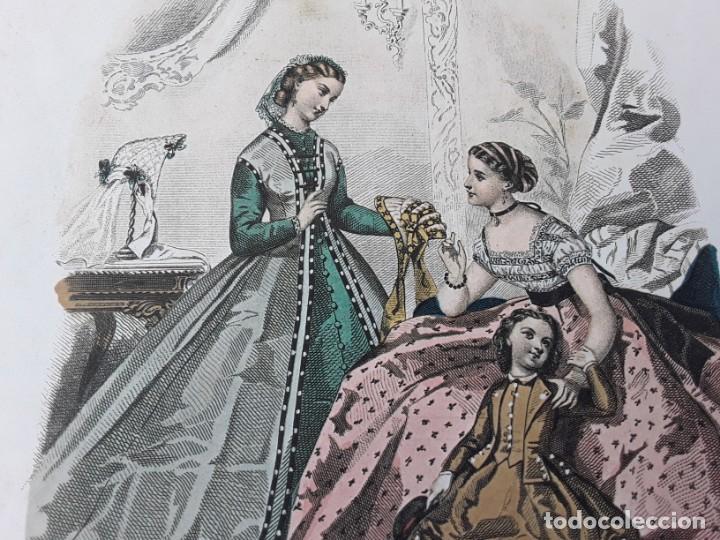 Arte: Lámina La Mode Illustrée. La moda ilustrada - Foto 6 - 147217974
