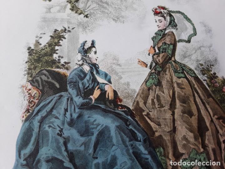 Arte: Lámina La Mode Illustrée. La moda ilustrada - Foto 4 - 147218750