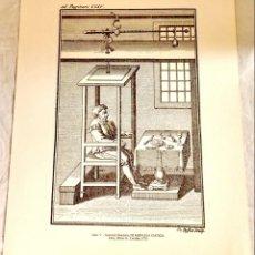 Arte: EL GRABADO EN LA HISTORIA DE LA MEDICINA-FISIOLOGÍA/SANCTORII SANCTORII DE MEDICINA STATICA-URIACH. Lote 147463938