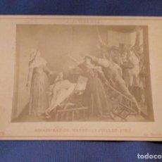 Arte: EXTRAORDINARIA PIEZA ORIGINAL ADOLPHE BRAUN.(SALA PARÉS S.XIX). Lote 147466946