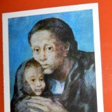 Arte: ARTE LAMINA PABLO PICASSO LA MATERNIDAD. Lote 147865918