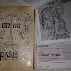 Arte: COLECCIÓN ARTE ROGER COMPLETA 40 LÁMINAS 1870-1920 PARÍS. NÉSTOR LUJÁN. TOMO I. Lote 148064264