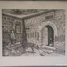 Arte: TRADICIÓN MALLORQUINA, SECADO DE PIMIENTOS AL SOL. PARE ANTONI CAIMARI (1893 -1978) MALLORCA. Lote 150632342