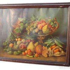 Art: LAMINA ANTIGUA BODEGON. Lote 152528774