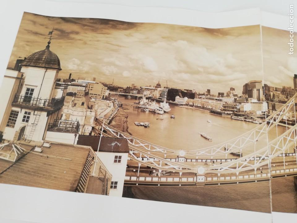 Arte: LÁMINA QUENTIN C. B. JACABSEN, 1998. TOWER BRIDGE. LONDON. - Foto 3 - 152776694