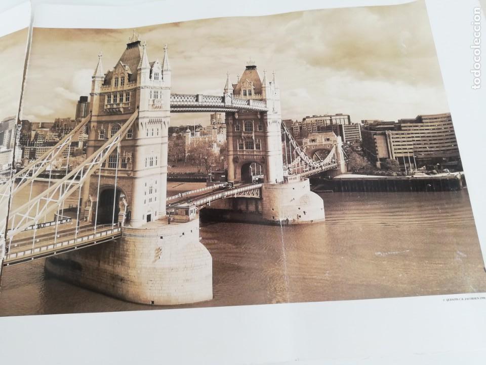 Arte: LÁMINA QUENTIN C. B. JACABSEN, 1998. TOWER BRIDGE. LONDON. - Foto 4 - 152776694