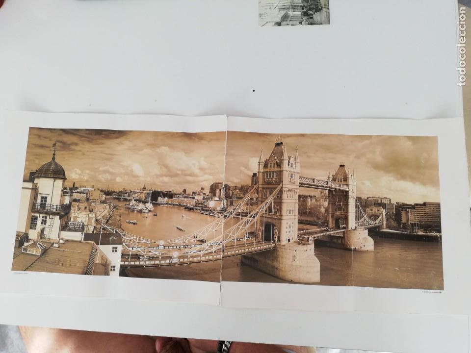 Arte: LÁMINA QUENTIN C. B. JACABSEN, 1998. TOWER BRIDGE. LONDON. - Foto 5 - 152776694