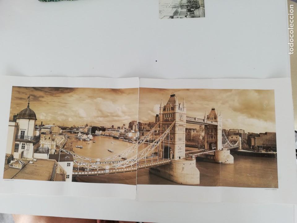 LÁMINA QUENTIN C. B. JACABSEN, 1998. TOWER BRIDGE. LONDON. (Arte - Láminas Antiguas)