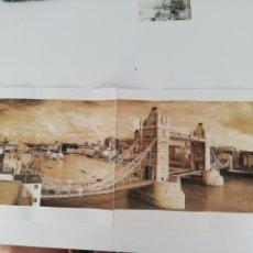 Arte: LÁMINA QUENTIN C. B. JACABSEN, 1998. TOWER BRIDGE. LONDON.. Lote 152776694