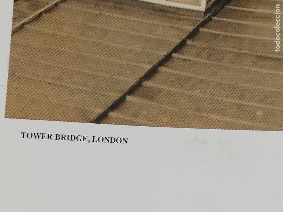 Arte: LÁMINA QUENTIN C. B. JACABSEN, 1998. TOWER BRIDGE. LONDON. - Foto 2 - 152776694