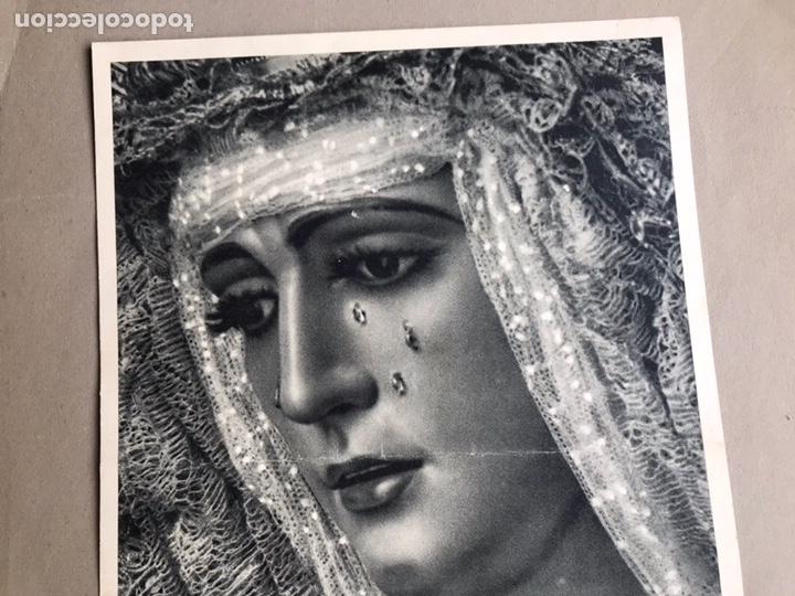 Arte: Hueco grabado Fournier, Nrta. Sra. de la Esperanza Triana. - Foto 2 - 153430212
