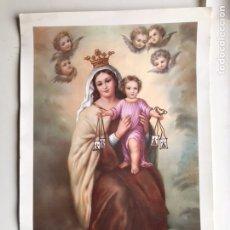 Arte: ANTIGUA LAMINA INMACULADA TAMAÑO GRANDE. Lote 153435322