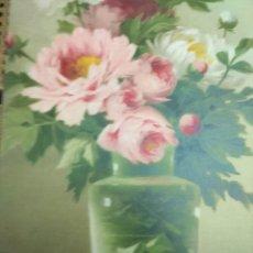 Arte: LAMINA PARA ENMARCAR MUY ANTIGUA 60X30 VINTAGE. Lote 153479782