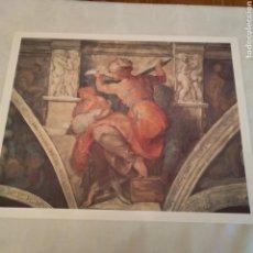 Arte: LAMINA SIBILA LIBICA DE MIGUEL ANGEL. Lote 153543736