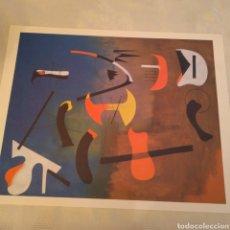 Arte: LAMINA COMPOSICIÓN DE JOAN MIRÓ. Lote 153545532