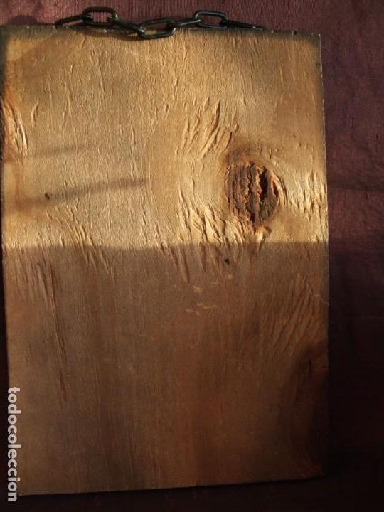 Arte: TABLA, CARTEL DE MADERA CON LITOGRAFÍA. PUBLICIDAD ANTIGUA. GRAPE NUTS. CUADRO, MARCO - Foto 9 - 153752702