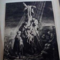 Arte: COLECCIÓN LÁMINAS GRABADOS REMBRANDT RADIERUNGEN.. Lote 158417462