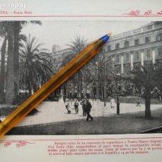 Arte: LAMINA BARCELONA HUECOGRABADO FOTOGRAFICO AÑO 1900 19X13,5 CM VISTA FOTOGRAFIA CIUDAD PARA ENMARCAR . Lote 158661574