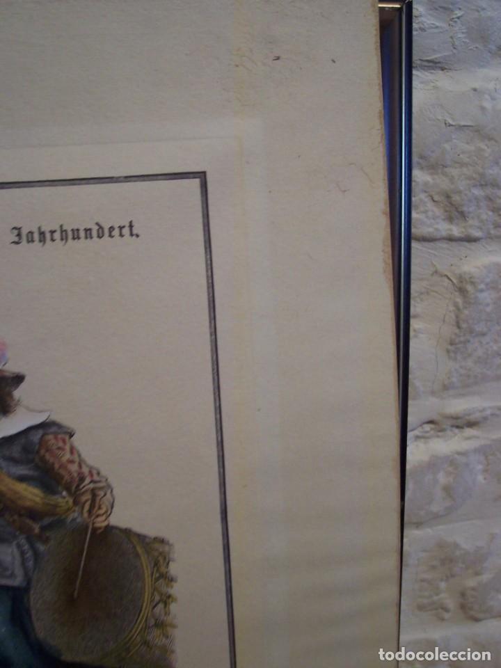 Arte: Lámina DEL SIGLO XX de soldados alemanes del siglo XVII - Foto 6 - 159065974