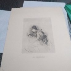 Arte: LAMINA EL INVALIDO ,FORTUNY GRAVADO POR SEGUI. Lote 161161020