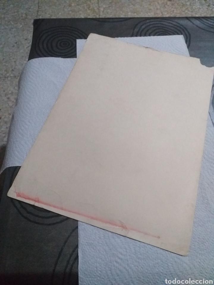 Arte: LAMINA RETRATO A LA PLUMA FORTUNY 1869 - Foto 6 - 161162646