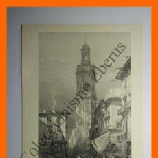 Arte: VALENCIA - TORRE DE SANTA CATALINA. Lote 162490290