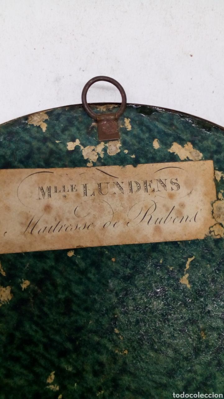 Arte: Marco con impresion antigua Mlle Lundens - Foto 2 - 163126193