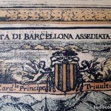 Arte: EL ASEDIO A BARCELONA. Lote 164957370