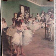 Arte: CLASE BALLET -- FIRMA +/- DAGA. Lote 165420474