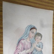 Arte: VIRGEN Y NIÑO JESÚS. Lote 165426702