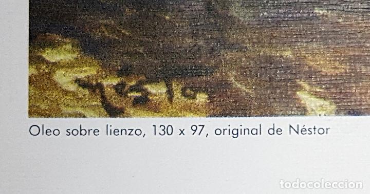 Arte: Lámina Puerta de Triana Sevilla.130x97 cms. - Foto 2 - 167980756