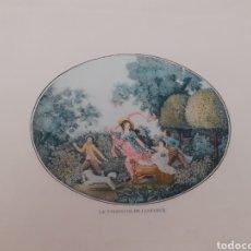 Arte: LAMINA. LE TRIOMPHE DE L'ENFANCE. PRINCIPIOS S.XX.. Lote 168723177