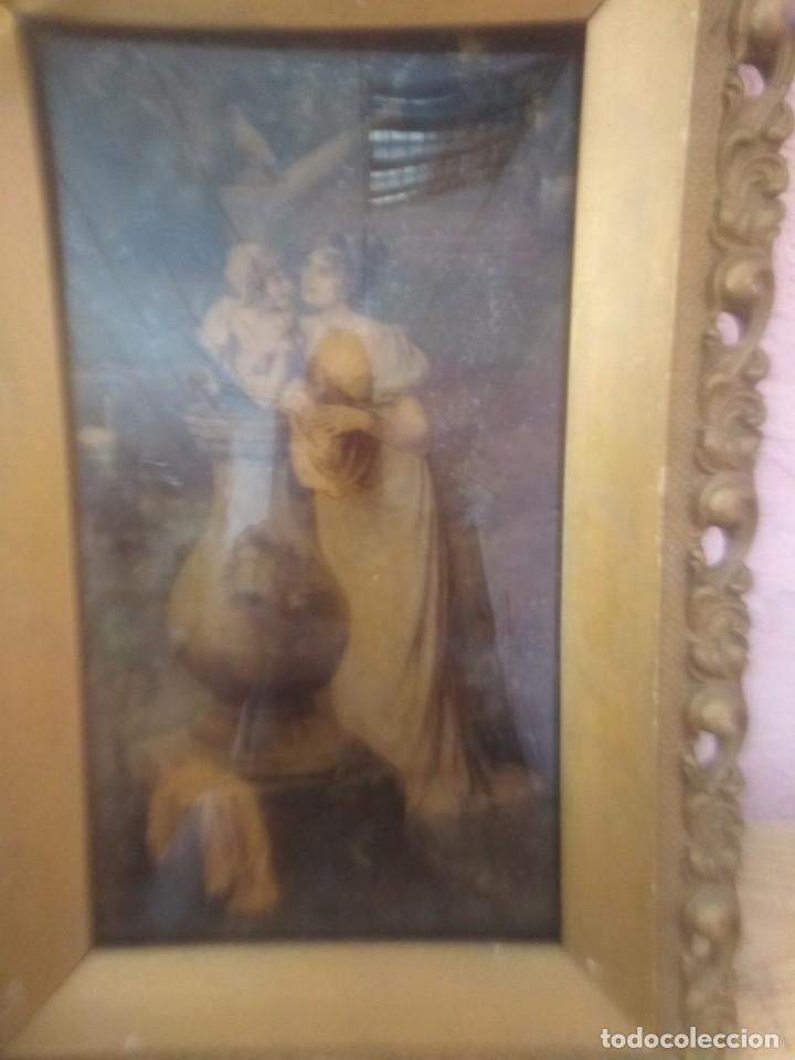 CUADRO IMPRESIÓN ANTIGUA (Arte - Láminas Antiguas)