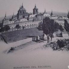 Arte: FOTOTIPIA, MONASTERIO DEL ESCORIAL, HAUSER Y MENET. Lote 169799262