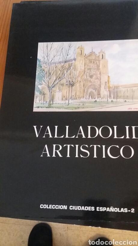 6 LÁMINAS DE VALLADOLID ARTÍSTICO. COLECCIÓN CIUDADES ESPAÑOLAS N. 2 (Arte - Láminas Antiguas)