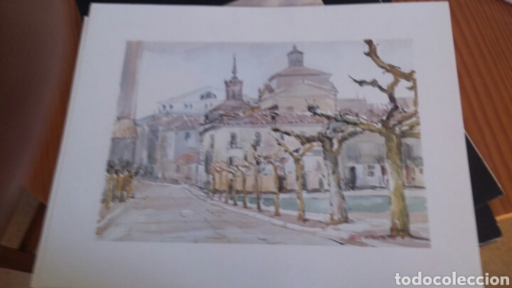 Arte: 6 láminas de Valladolid Artístico. Colección Ciudades Españolas n. 2 - Foto 4 - 194528873