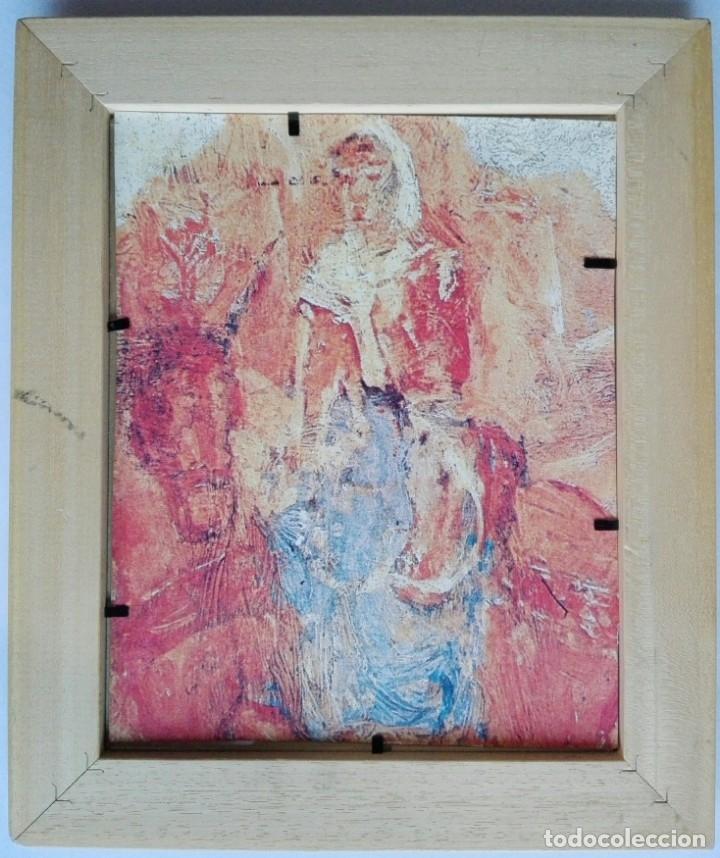 Arte: LAMINA INÉDITA PICASSO - PAPEL ACUARELA 300 GRAMOS ENMARCADO 32,5 X 27,5 - Foto 2 - 57330218