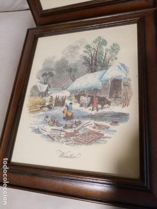 Arte: laminas enmarcadas de las cuatro estaciones del año - Foto 4 - 171700433
