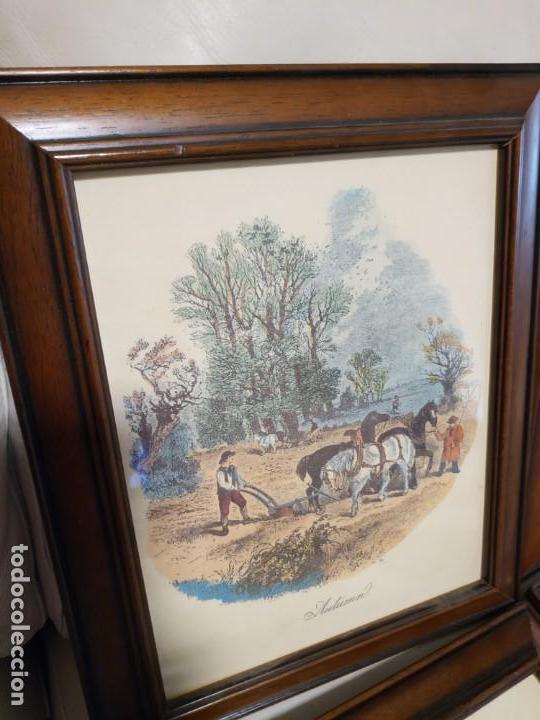 Arte: laminas enmarcadas de las cuatro estaciones del año - Foto 5 - 171700433