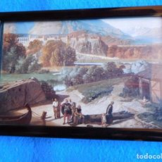 Arte: SOLDADO ROMANO , CUADRO DE MADERA 18 X 24 CM . Lote 172119034