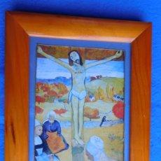 Arte: CRUCIFICADO. MARCO DE MADERA 19 X 245 CM . Lote 172255664