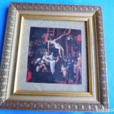 Arte: PEDRO MACHUCA. DESCENDIMIENTO DE LA CRUZ. MARCO DE MADERA 18 X 25 CM . Lote 172256814