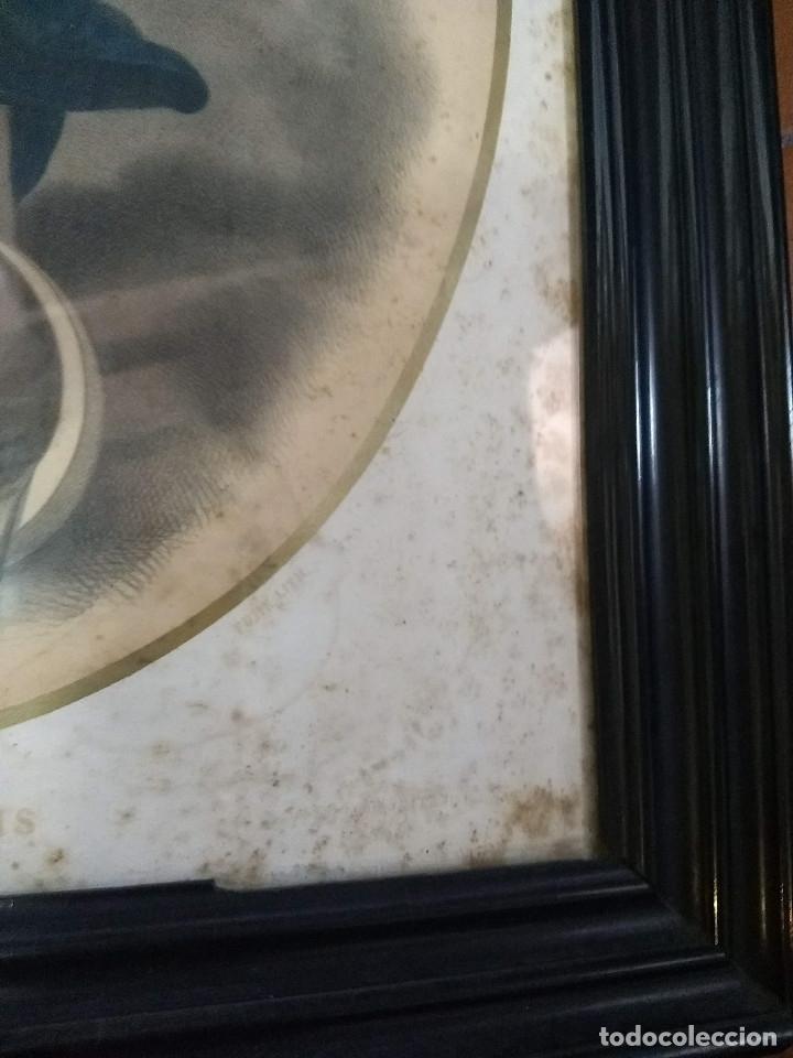 Arte: Pareja de marcos de madera antiguos con bonitas láminas San José con el Niño y La Inmaculada - Foto 29 - 172790103