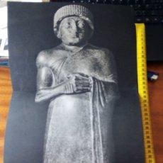 Arte: GUDEA ORANTE. S XXII A.C. MUSEO DEL LOUVRE. FOTO: TELLO. 56 X 29 CM. Lote 172949670