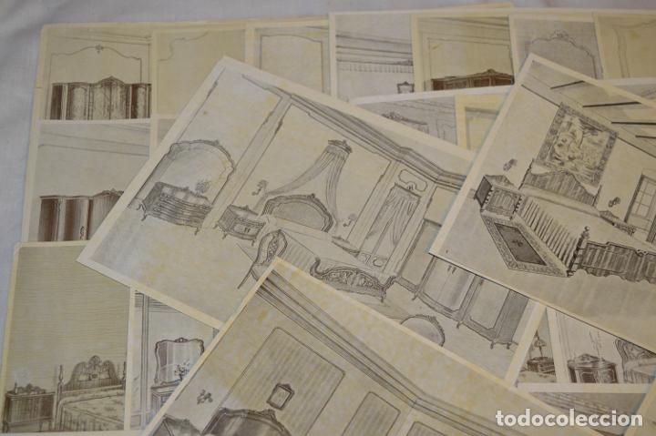 Arte: 40 LÁMINAS VARIADAS - EXQUISITAS y ANTIGUAS DE MUEBLES dormitorios CLÁSICOS y antiguos ¡Mira! - Foto 2 - 173988404